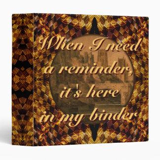 The Reminder Binder