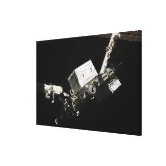 The Remote Manipulator System robotic arm Canvas Print