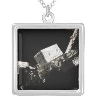 The Remote Manipulator System robotic arm Square Pendant Necklace