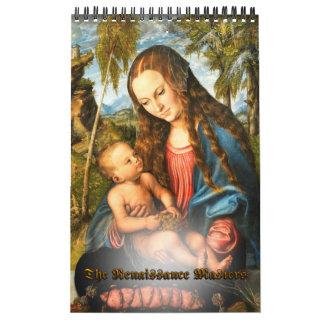 The Renaissance Masters Calendar