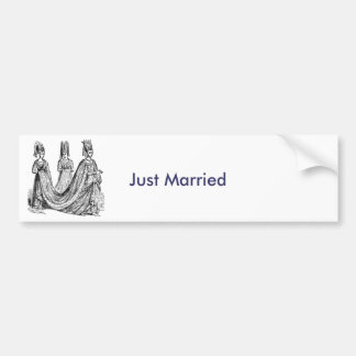 The Renaissance Wedding Bumper Sticker