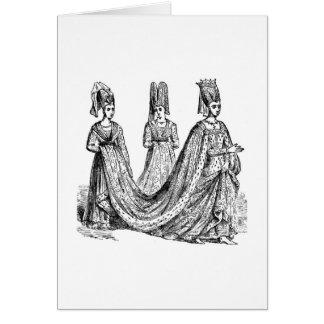 The Renaissance Wedding Greeting Card
