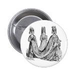 The Renaissance Wedding Pinback Button