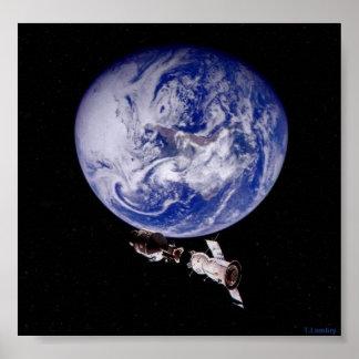 The Rendezvous Apollo-Soyuz Poster