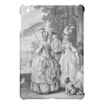The Rendezvous at Marly, engraved by Carl Guttenbe iPad Mini Covers
