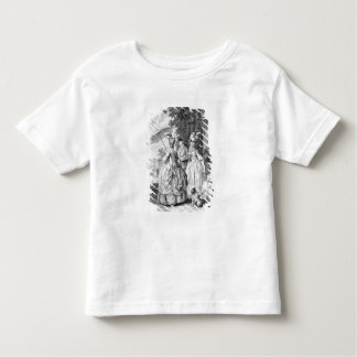 The Rendezvous at Marly, engraved by Carl Guttenbe Toddler T-shirt