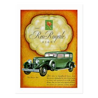 The Reo-Royale Eight Postcard