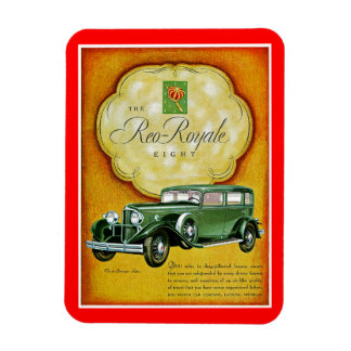 The Reo-Royale Eight Rectangular Photo Magnet