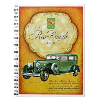 The Reo-Royale Eight Spiral Notebook