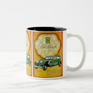 The Reo-Royale Eight Two-Tone Coffee Mug