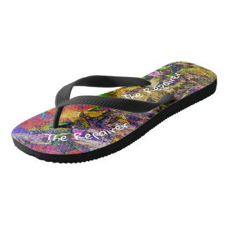 The Repairer Of The Breach Flip Flops