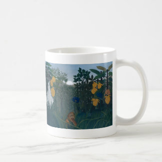 The Repast of the Lion - Henri Rousseau Coffee Mug