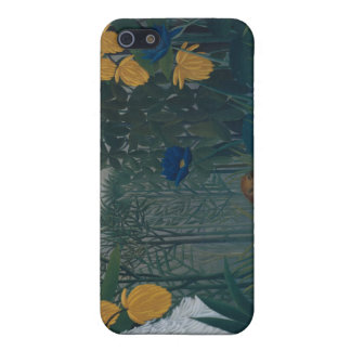 The Repast of the Lion - Henri Rousseau Case For iPhone 5