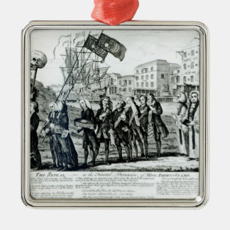The Repeal, or the Funeral Procession Metal Ornament