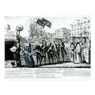 The Repeal, or the Funeral Procession Postcard