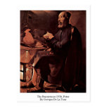 The Repentance Of St. Peter By Georges De La Tour Post Cards