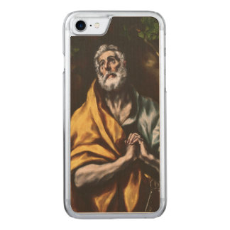 The Repentant Saint Peter by El Greco Carved iPhone 7 Case
