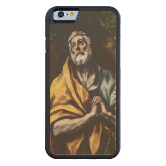 The Repentant Saint Peter by El Greco Carved® Maple iPhone 6 Bumper Case