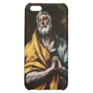 The Repentant Saint Peter by El Greco iPhone 5C Cases