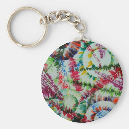 the repose of the circle fish keychain