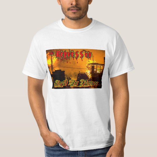 The Repressed World In Flames T-Shirt
