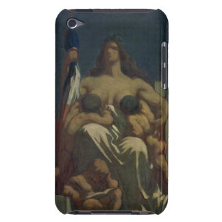 The Republic, 1848 (oil on canvas) Barely There iPod Case
