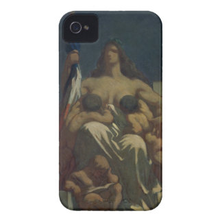 The Republic, 1848 (oil on canvas) Case-Mate iPhone 4 Case
