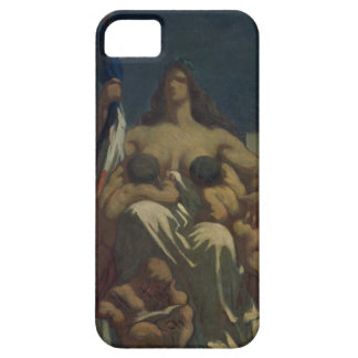 The Republic, 1848 (oil on canvas) iPhone SE/5/5s Case