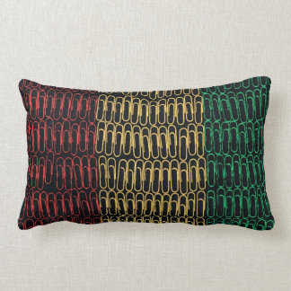 The Republic of Guinea Paperclips Throw Pillows