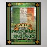 The Republic of Ireland Centennial. Poster