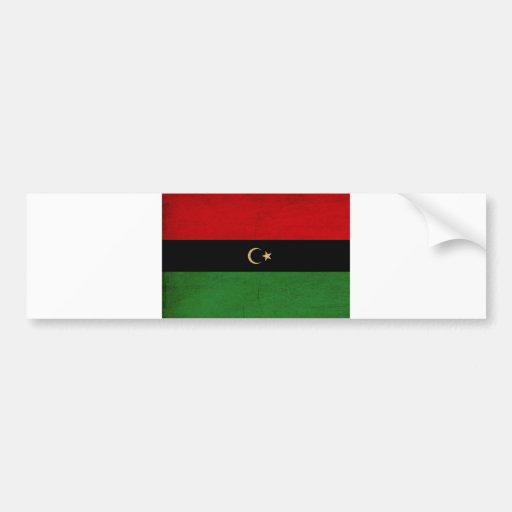 the republic of libya tex3Republic of Libya Flag Bumper Sticker