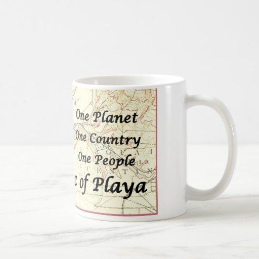 The Republic of Playa on Port Ballona Mug