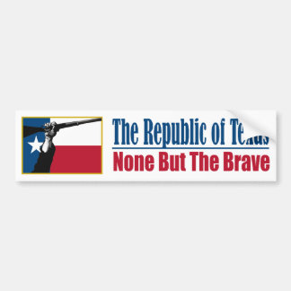 The Republic of Texas (NBTB) Bumper Sticker