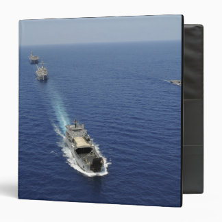 The Republic of the Philippines Navy ships 3 Ring Binder