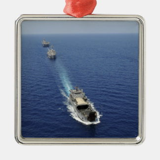 The Republic of the Philippines Navy ships Metal Ornament