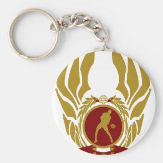 The Republic of Vietnam Badminton png Key Chains