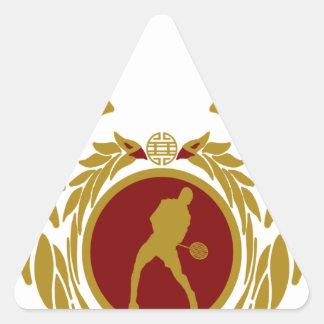The Republic of Vietnam Badminton.png Triangle Sticker