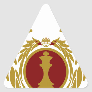 The Republic of Vietnam Chess.png Triangle Sticker