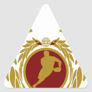 The Republic of Vietnam Rugby.png Triangle Sticker