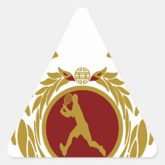 The Republic of Vietnam Tennis.png Triangle Sticker