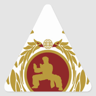 The Republic of Vietnam Vo Vietnam.png Triangle Sticker
