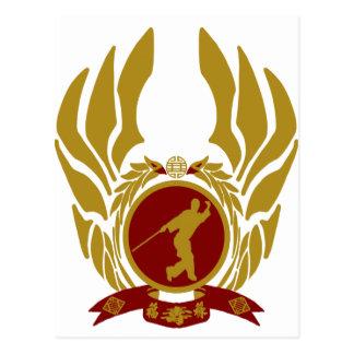 The Republic of Vietnam Vovinam (armed).png Postcard