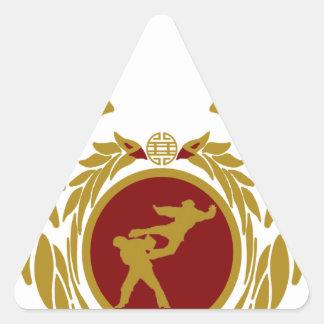 The Republic of Vietnam Vovinam (unarmed).png Triangle Sticker
