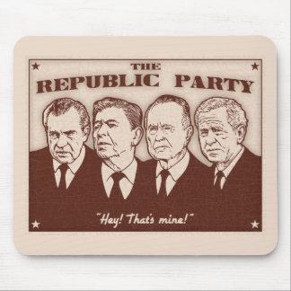 The Republic Party Mousepad