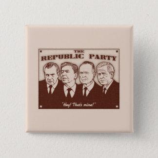 The Republic Party Pinback Button