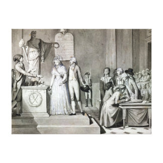The Republican Marriage Canvas Print
