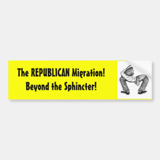 The REPUBLICAN Migration! Bumper Sticker
