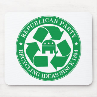 The Republicans - Recycling ideas since 1854 Mouse Pad