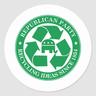 The Republicans - Recycling ideas since 1854 Sticker
