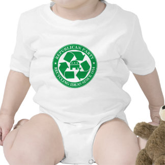 The Republicans - Recycling ideas since 1854 Baby Bodysuit